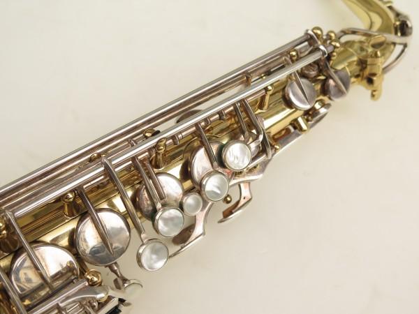 Saxophone alto Selmer Mark 6 verni clés argentées (12)