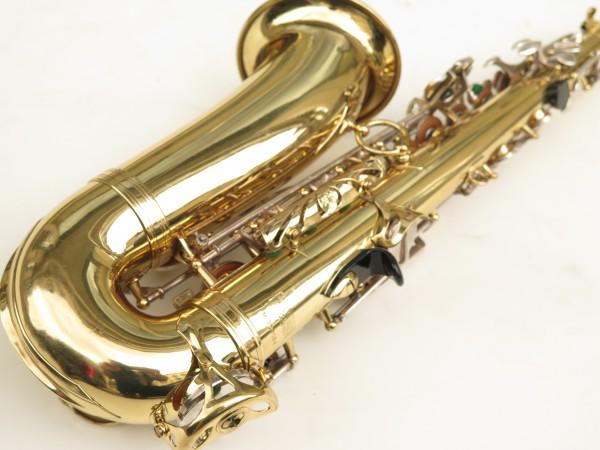 Saxophone alto Selmer Mark 6 verni clés argentées (13)