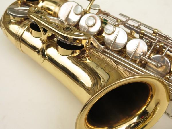 Saxophone alto Selmer Mark 6 verni clés argentées (2)
