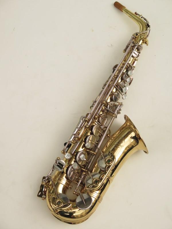 Saxophone alto Selmer Mark 6 verni clés argentées (3)