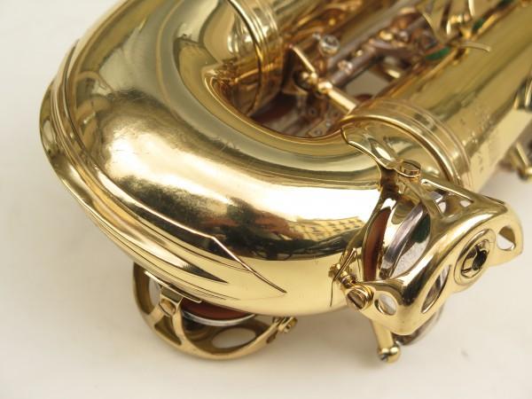 Saxophone alto Selmer Mark 6 verni clés argentées (5)