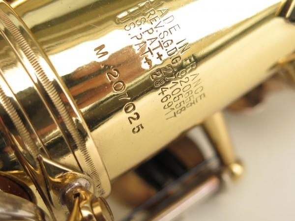 Saxophone alto Selmer Mark 6 verni clés argentées (6)