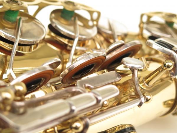 Saxophone alto Selmer Mark 6 verni clés argentées (8)