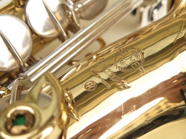 Saxophone alto Selmer Mark 6 verni clés argentées (9)