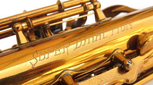 Saxophone soprano Buffet Crampon Super Dynaction verni gravé (1)