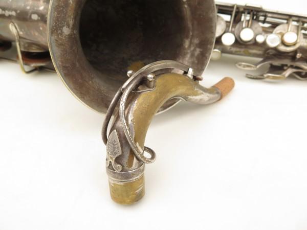 Saxophone ténor Selmer Cigar cutter argenté (11)