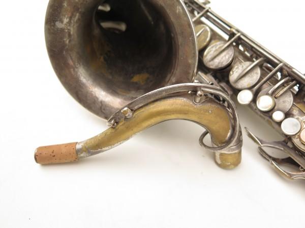 Saxophone ténor Selmer Cigar cutter argenté (12)