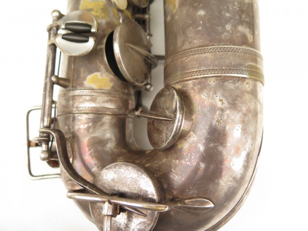Saxophone ténor Selmer Cigar cutter argenté (13)