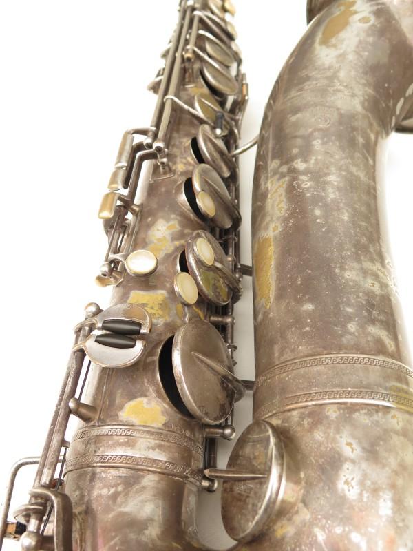 Saxophone ténor Selmer Cigar cutter argenté (14)