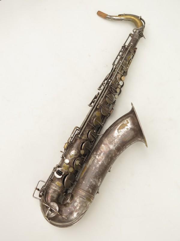 Saxophone ténor Selmer Cigar cutter argenté (15)
