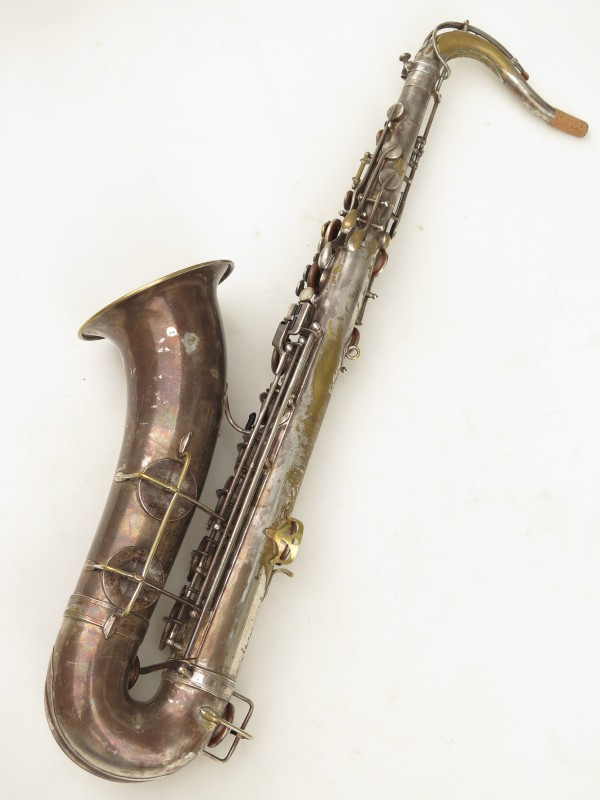 Saxophone ténor Selmer Cigar cutter argenté (16)