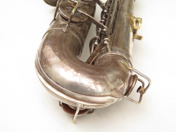 Saxophone ténor Selmer Cigar cutter argenté (17)