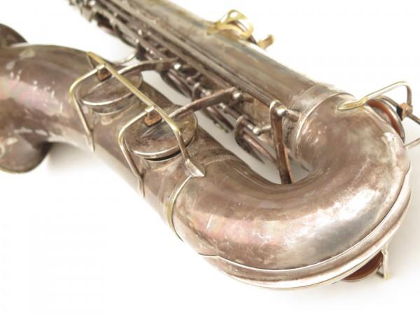 Saxophone ténor Selmer Cigar cutter argenté (18)