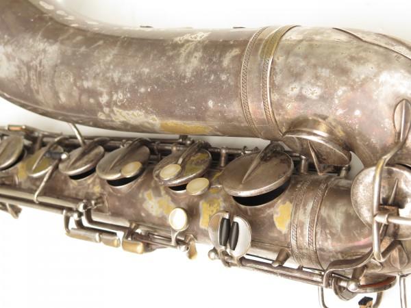 Saxophone ténor Selmer Cigar cutter argenté (2)