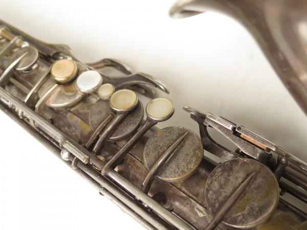 Saxophone ténor Selmer Cigar cutter argenté (3)