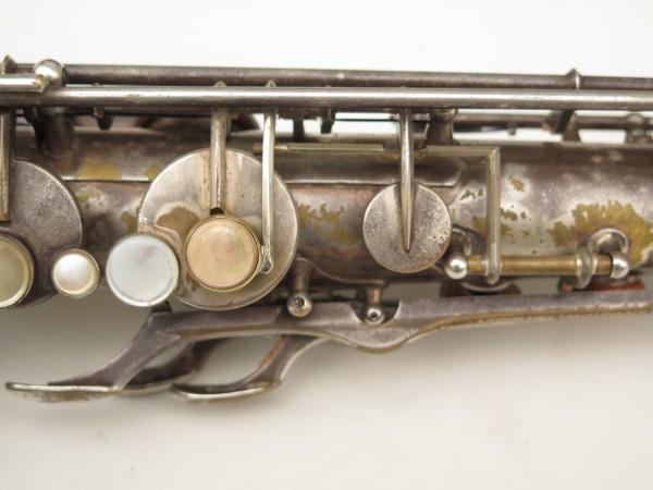 Saxophone ténor Selmer Cigar cutter argenté (4)