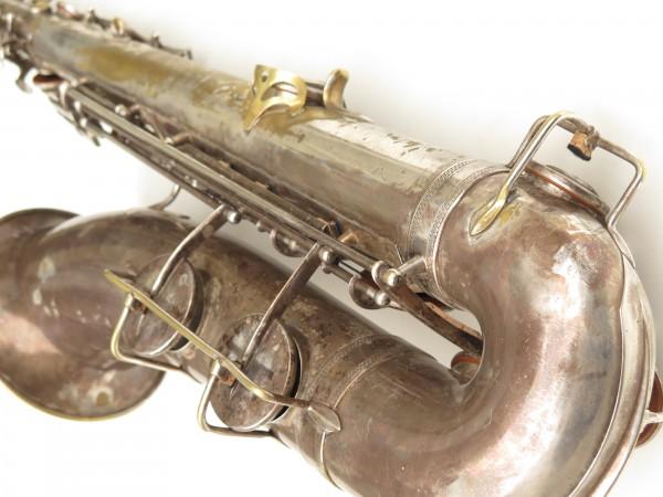 Saxophone ténor Selmer Cigar cutter argenté (5)