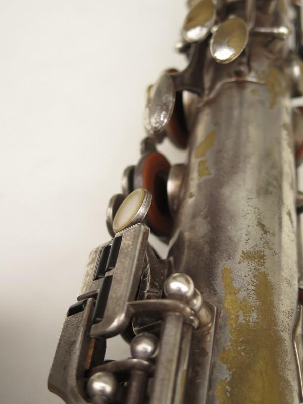 Saxophone ténor Selmer Cigar cutter argenté (6)