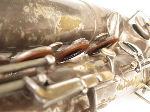 Saxophone ténor Selmer Cigar cutter argenté (7)