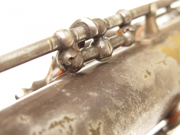 Saxophone ténor Selmer Cigar cutter argenté (8)