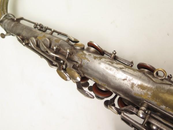 Saxophone ténor Selmer Cigar cutter argenté (9)