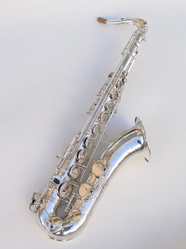 Saxophone ténor Selmer Mark 6 argenté (16)