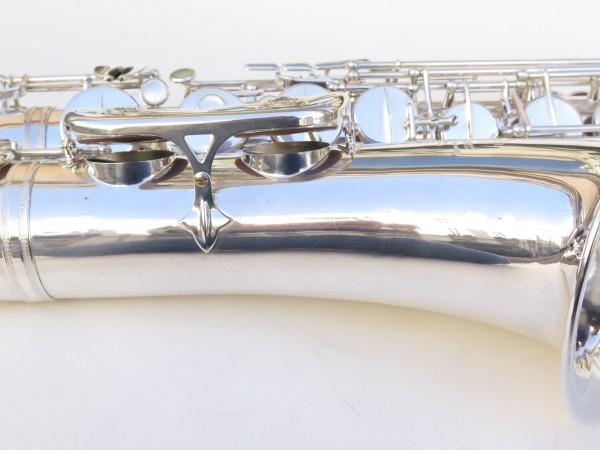 Saxophone ténor Selmer Mark 6 argenté (2)