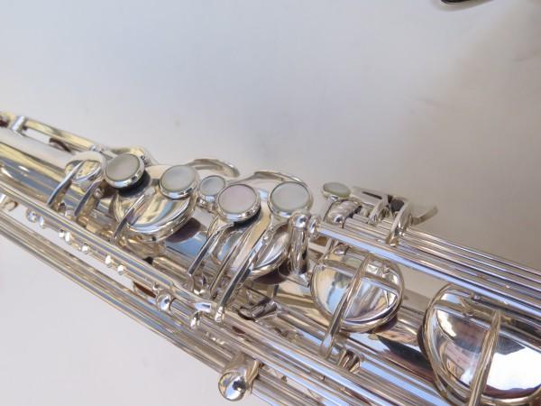 Saxophone ténor Selmer Mark 6 argenté (22)