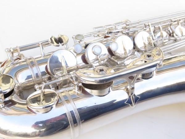 Saxophone ténor Selmer Mark 6 argenté (4)