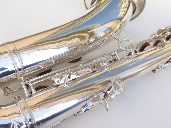 Saxophone ténor Selmer Mark 6 argenté (7)