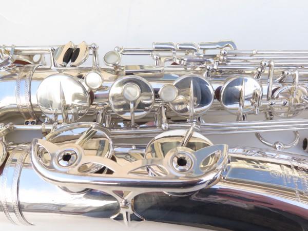 Saxophone ténor Selmer Mark 6 argenté (9)