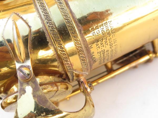 Saxophone ténor Selmer Mark 6 verni gravé (19)