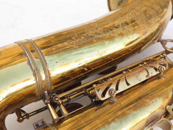 Saxophone ténor Selmer Mark 6 verni gravé (22)