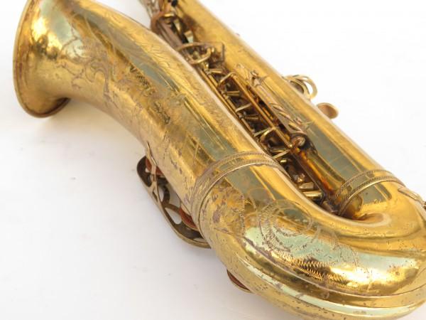 Saxophone ténor Selmer Mark 6 verni gravé (6)
