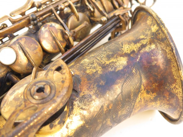 Saxophone alto Selmer Super Action 80 déverni oxydé (1)