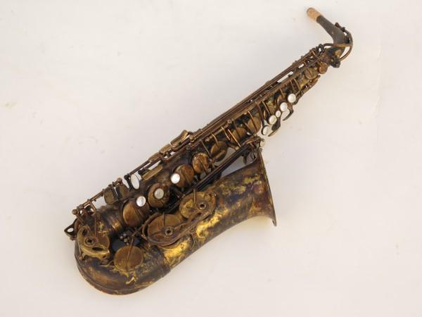 Saxophone alto Selmer Super Action 80 déverni oxydé (11)