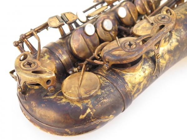 Saxophone alto Selmer Super Action 80 déverni oxydé (2)