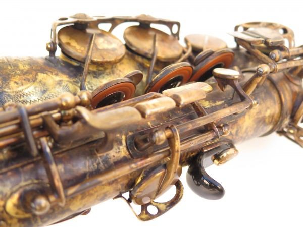 Saxophone alto Selmer Super Action 80 déverni oxydé (3)