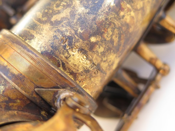 Saxophone alto Selmer Super Action 80 déverni oxydé (8)