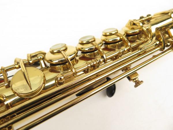 Saxophone soprano Selmer Mark 6 verni gravé (10)