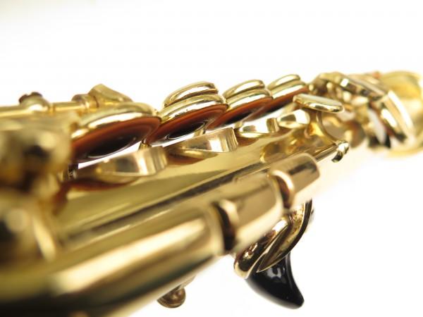 Saxophone soprano Selmer Mark 6 verni gravé (11)