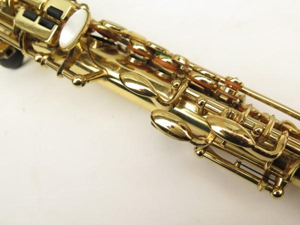 Saxophone soprano Selmer Mark 6 verni gravé (12)