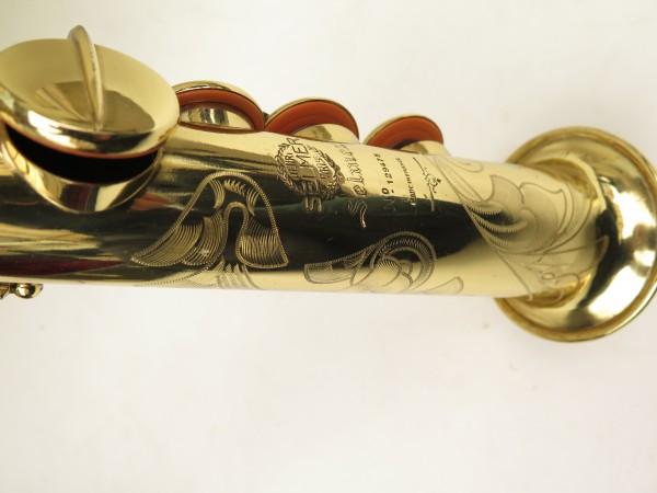 Saxophone soprano Selmer Mark 6 verni gravé (13)