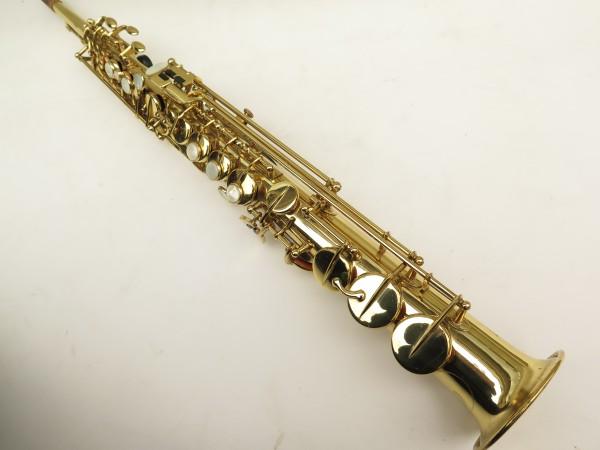 Saxophone soprano Selmer Mark 6 verni gravé (14)
