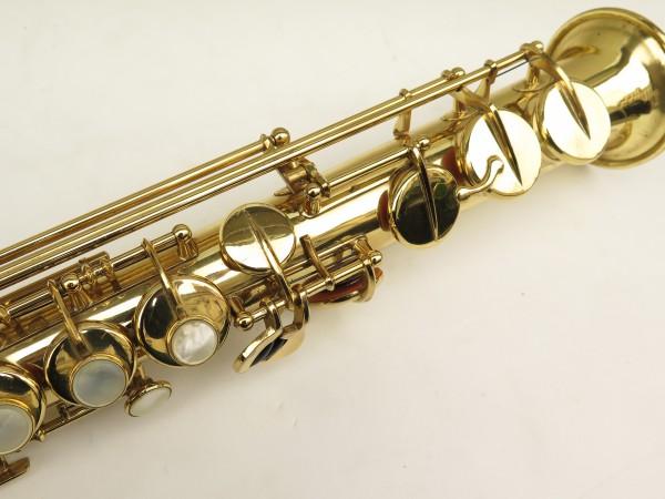 Saxophone soprano Selmer Mark 6 verni gravé (3)