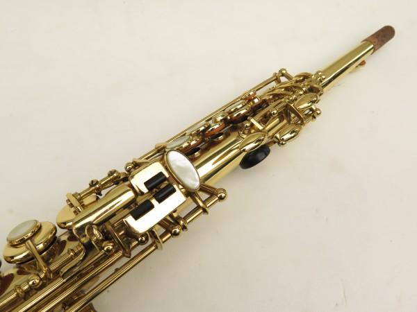 Saxophone soprano Selmer Mark 6 verni gravé (4)