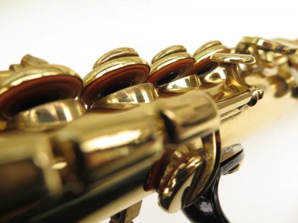 Saxophone soprano Selmer Mark 6 verni gravé (6)