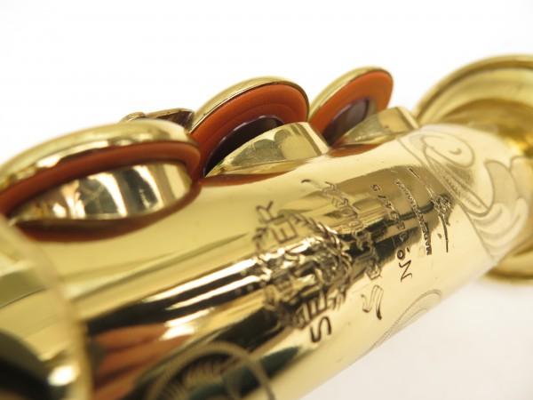 Saxophone soprano Selmer Mark 6 verni gravé (7)