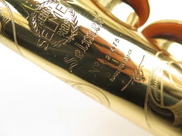 Saxophone soprano Selmer Mark 6 verni gravé (8)