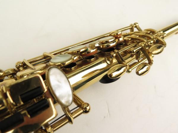Saxophone soprano Selmer Mark 6 verni gravé (9)